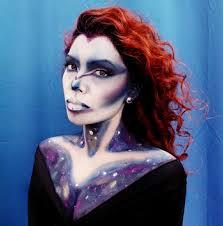 galaxy halloween makeup ideas popsugar beauty