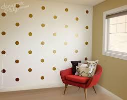 Stickers For Walls In Bedrooms by Best 25 Gold Dot Wall Ideas On Pinterest Polka Dot Nursery