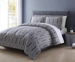 Comforters On Sale Colormate Microfiber Comforter Set Grid Home Bed U0026 Bath
