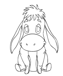 baby eeyore coloring pages redcabworcester redcabworcester