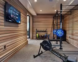 Contemporary Home Gym Ideas  Design Photos Houzz - Home gym interior design