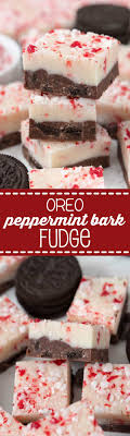 where to buy white fudge oreos oreo peppermint bark fudge for crust