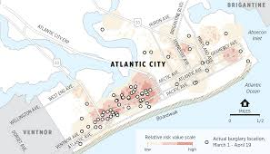 Crime Spot Map Can Atlantic City U0027s Bold Experiment Take Racial Bias Out Of