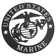 Marines Corps Emblem Metal Silhouette 3025 Free Shipping On
