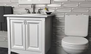 How To Install A Tile Backsplash In Kitchen How To Install A Tile Backsplash In The Bathroom Overstock Com