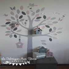 stickers arbre chambre enfant le plus luxueux stickers chambre bébé et gris
