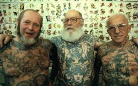 Boys With Tattoos Meme - 23 seniors that prove tattoos can still look cool on old people