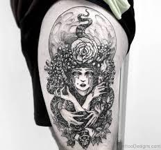 40 phenomenal medusa tattoos on thigh
