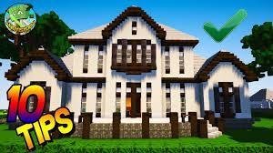 10 easy minecraft house tips youtube
