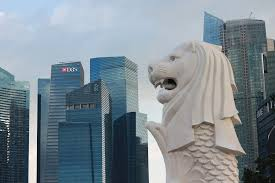 singapore lion free photo fish city statue singapore lion sea lion max