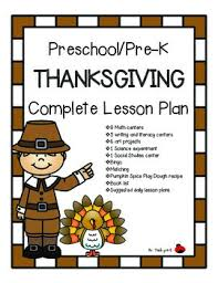 pre k thanksgiving complete 7 day lesson plan turkey colors