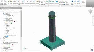 autodesk nastran in cad impact analysis youtube