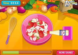 jeux de cuisine salade jouer à salade de fruits frais jeux gratuits en ligne avec jeux org