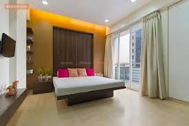 Bedroom with Cove In False Ceiling Design s
