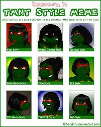 Tmnt Meme - tmnt style meme redux by artisticrainey on deviantart