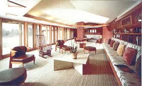 frank lloyd wright living room house