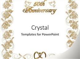 wedding anniversary backdrop 50th wedding anniversary powerpoint templates crystalgraphics