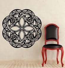 Om Wall Decal Mandala Vinyl online get cheap mandala wall sticker office aliexpress com