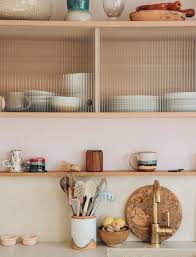 reeded glass kitchen cabinet doors the better to un see you with sfgirlbybay