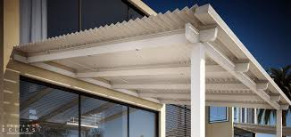 Motorized Pergola Cover by Wall Mounted Pergola Aluminum With Mobile Slats Sun Shade