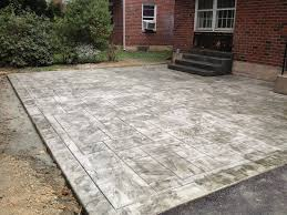 triyae com u003d cement backyard design various design inspiration