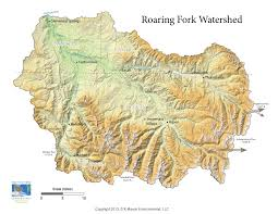 Map Of The Colorado River by Rfc Roaring Fork Watershed Facts