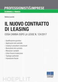 maggioli editore sede il nuovo contratto di leasing loconte stefano maggioli editore