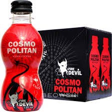 cosmopolitan bottle fire devil cocktail cosmopolitan 6 x 0 2 l beowein mail order