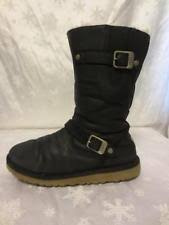 ugg womens laurin boots ugg australia laurin black genuine suede leather boots shoes
