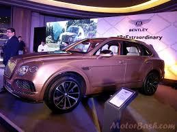 purple bentley bentley launches bentayga for rs 3 85 crores motorbash com