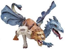 amazon com safari ltd mythical realms chimera toys u0026 games