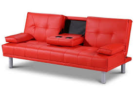 Manhattan Leather Chair Manhattan Bluetooth Speakers Modern Sofa Bed Red Faux Leather