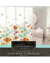 Cynthia Rowley Curtain Savings On Cynthia Rowley Floral Fabric Shower Curtain U0027giacomo