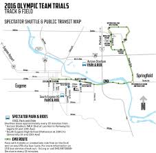 Autzen Stadium Map Tracktown Park And Ride Free Shuttle To Fan Festival Kval