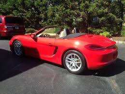 Porsche Boxster Red - 2014 boxster 6spd guards red sand beige well optioned rennlist