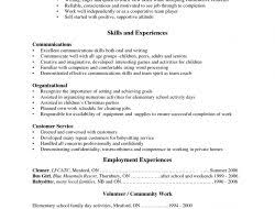 Example Of Job Resume by Sample Resume Template For High Student With No Job