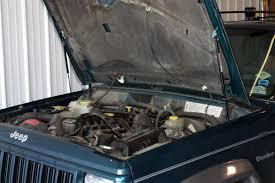 1986 2001 jeep cherokee hood quicklift plus