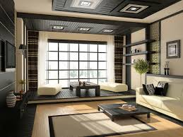 living room minimalist white nuance of the asian interior design