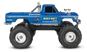 rc monster truck video bigfoot no 1 u2013 the original monster truck u2013 ford f 100 1 10