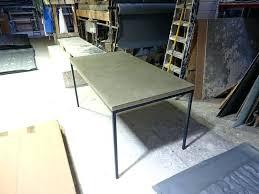 diy concrete dining table concrete top desk zen wood dining table diy concrete table top