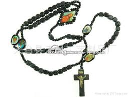 catholic rosary necklace wood rosary rosary necklace catholic rosry product catalog china