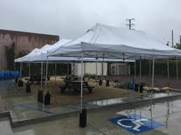canopy tent rental 10x20 canopy tent just 4 party rentals santa barbara
