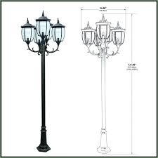 Innova Lighting Led 3 Light Outdoor L Post 3 Light Outdoor L Post Pole Click To Enlarge Lantern Innova