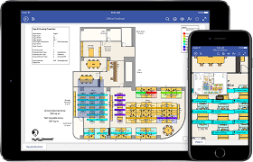 The Office Us Floor Plan Microsoft Visio Viewer For Ios
