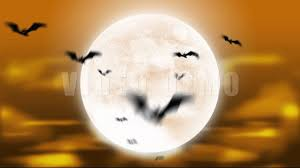 full moon halloween animation loop youtube