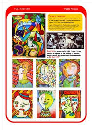 free printable worksheets picasso google search picasso