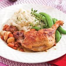 cuisiner cuisse de canard cuisses de canard braisées aux figues recettes cuisine et