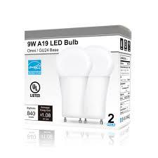 dimmable 9w gu24 led bulb 60w equivalent a19 gu24 base bulb