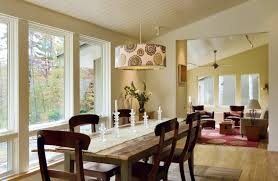 patterned cylinder dining room pendant lighting fixtures over a