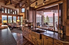 Home Design Windows Colorado Rustic Ranch House In Colorado Opens To The Mountains Ranch